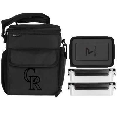 3 Meal Cooler Bag, Colorado Rockies, Performa Canada