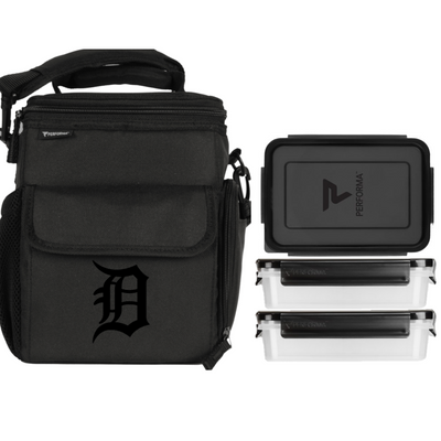 3 Meal Cooler Bag, Detroit Tigers, Performa USA