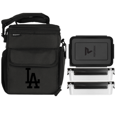 3 Meal Cooler Bag, Los Angeles Dodgers, Performa USA