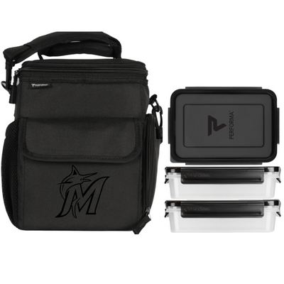 3 Meal Cooler Bag, Miami Marlins, Performa Canada