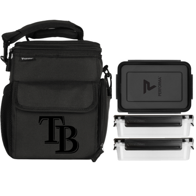 3 Meal Cooler Bag, Tampa Bay Rays, Performa Canada