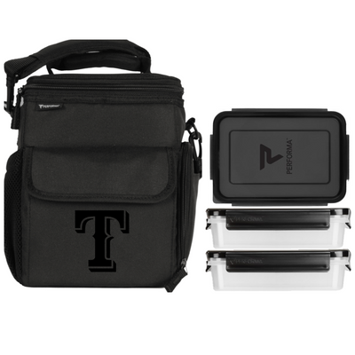 3 Meal Cooler Bag, Texas Rangers, Performa Canada