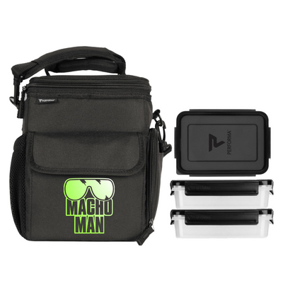 3 Meal Cooler Bag, Macho Man, Performa Canada