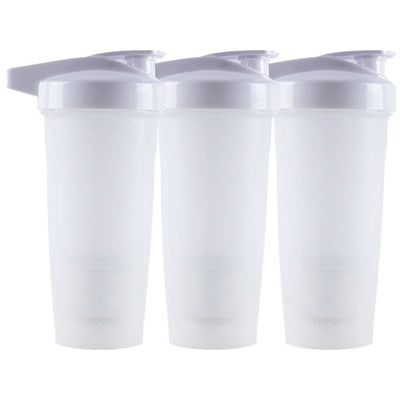 Bundle 3 Pack, ACTIV Shaker Cups, 28oz (800mL), White, Performa Canada