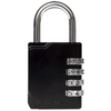 PERFORMA™ Embossed Black Gym Lock
