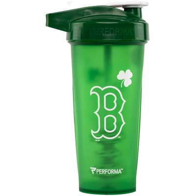ACTIV Shaker Cup, 28oz (800mL), Boston Red Sox (St Paddy's Edition), Performa Canada