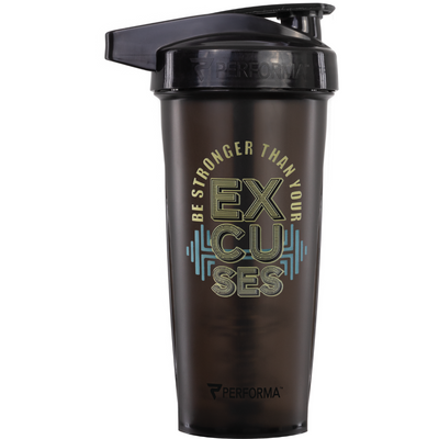 ACTIV Shaker Cup, 28oz, No Excuses, Performa Canada