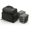 PERFORMA™ MATRIX™ All in One 6 Meal Prep Bag - Black/Black