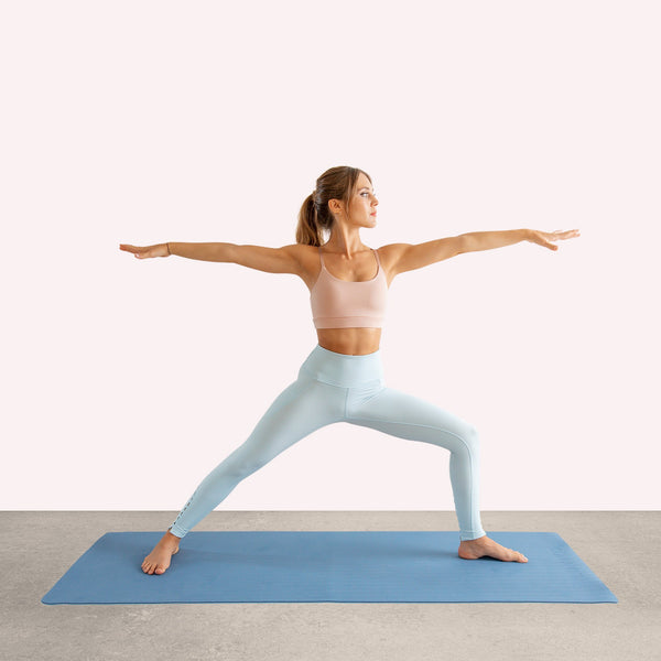 Reversible Yogamatte Blue