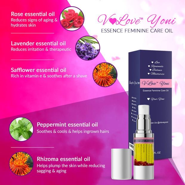 Yoni Oil & Wash by V-Love Yoni™ V-Lovers Bundle V-Love Yoni™ by Body Adore Health LLC