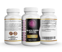 Load image into Gallery viewer, Best Black Seed Oil Capsules by Body Adore