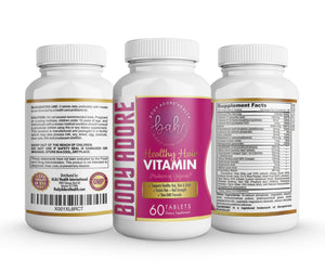 Healthy Hair Vitamin by Body Adore
