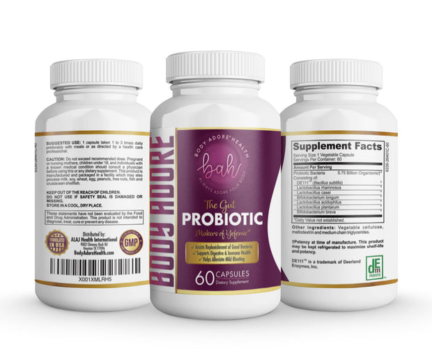 The Gut™ | Natural Probiotic by Body Adore® V-Love Yoni™ by Body Adore Health LLC