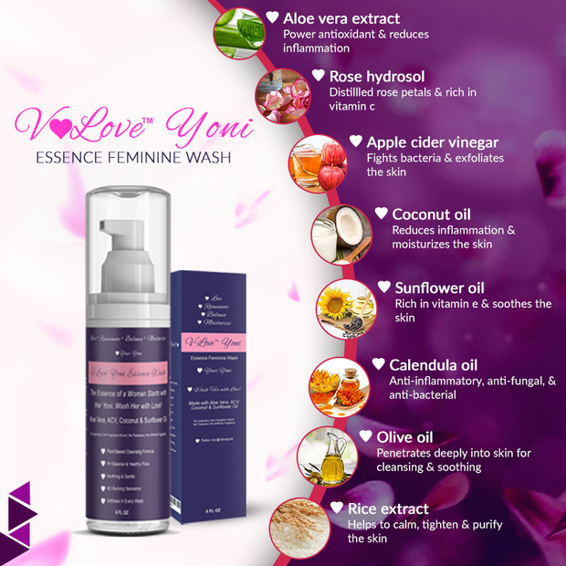 Yoni Vaginal Wash by V-Love Yoni™ V-Love Yoni™ by Body Adore Health LLC