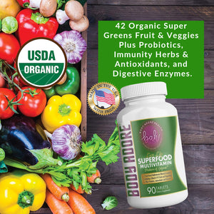 Live Life® Superfood Multivitamin by Body Adore  | Code 30%off: livelife30
