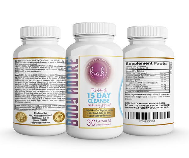 The Flush™ 15 Day Cleanse by Body Adore® V-Love Yoni™ by Body Adore Health LLC