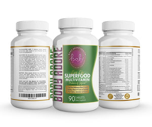 Live Life® Superfood Multivitamin by Body Adore