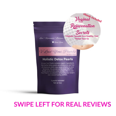 V-Love Yoni Detox Pearls | 7 Day Vaginal Detox