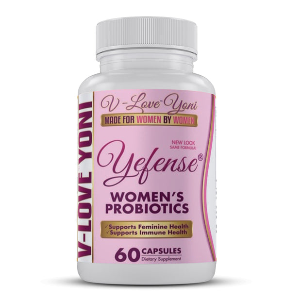 Yefense™ Probiotics | Helps Your Body Fight Off Yeast Infections