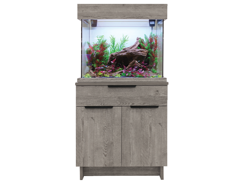 Aquaone oakstyle 110 urban fish tank