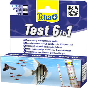 Tetra Test 6 in 1