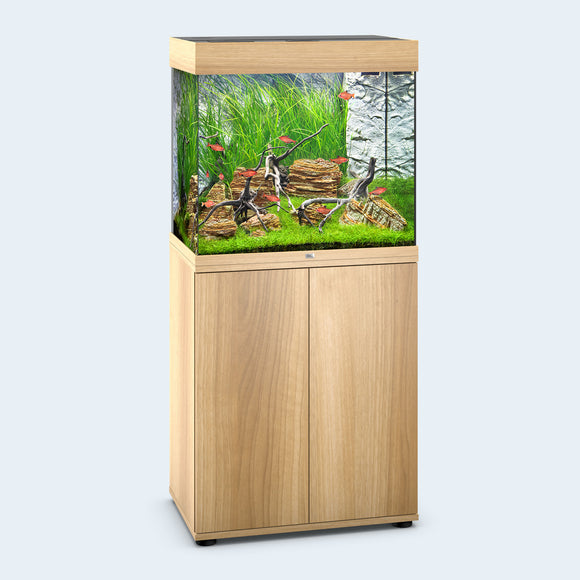 juwel lido 200 led light wood oak fish tank