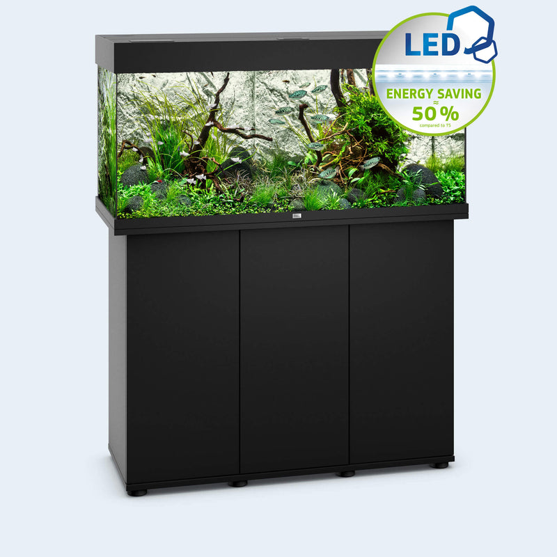 Juwel Rio 180 Tropical fish tank and cabinet black