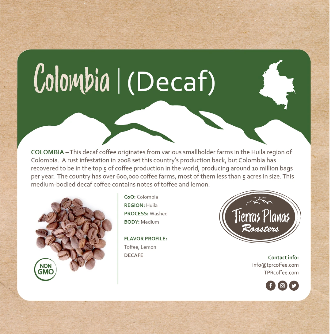 Colombia (Decaf)