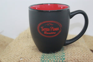 Black & Red Logo Mug