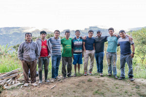 Picture of producers for the LimaCoffees Cooperative