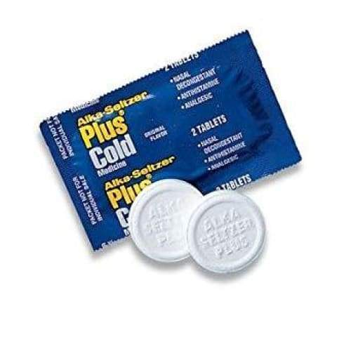 Alka-Seltzer Plus Cold 2 Pack - Grab and Go