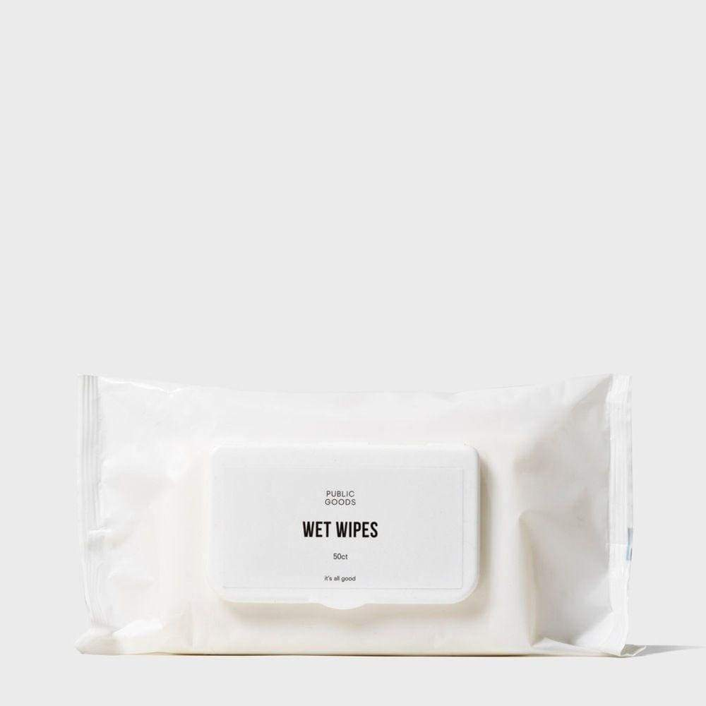 Bamboo Wet Wipes 50 ct - BATHROOM GOODS