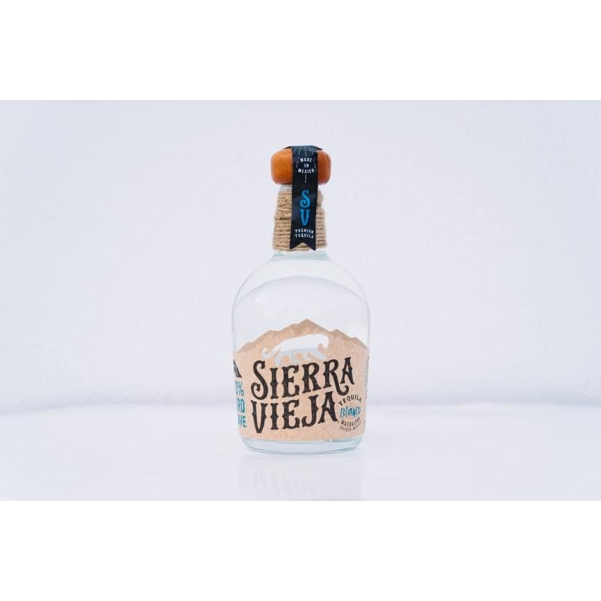 Blanco Tequila | Sierra Vieja - alcoholic, blanco, local
