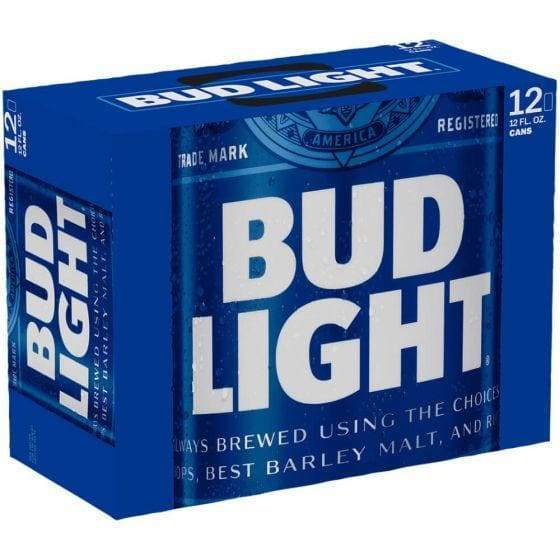 Bud Light - 12 Pack 12oz Cans - Beer