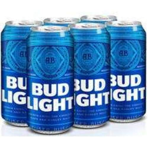 Bud Light - 6 Pack 16oz Cans - Beer