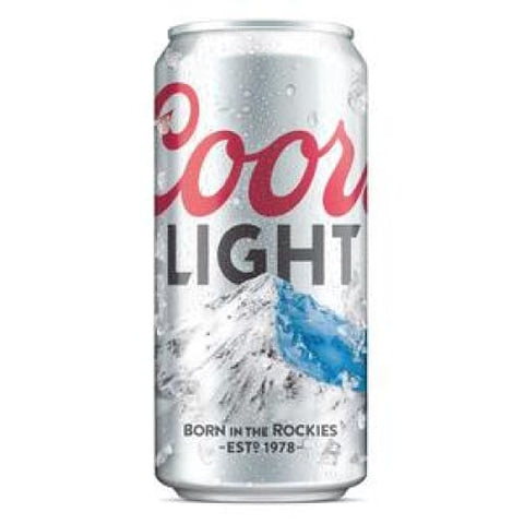 Coors Light - alcoholic, Beer, coors