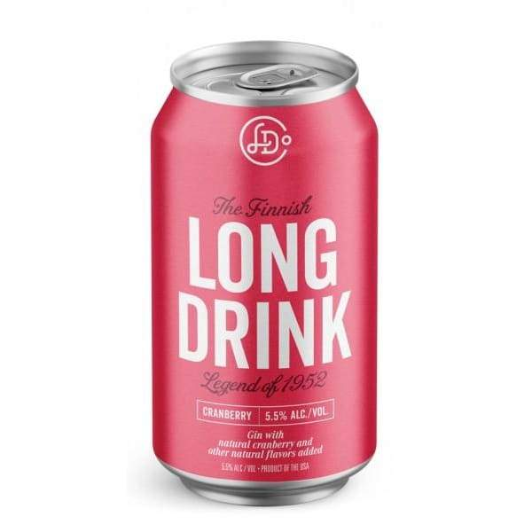 Cranberry | The Finnish Long Drink - alcoholic, canned