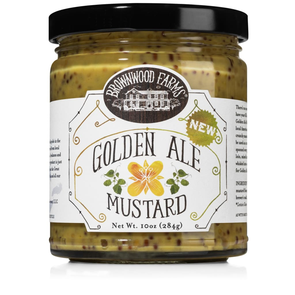 Golden Ale Mustard | Brownwood Farms - FOOD, grocery,
