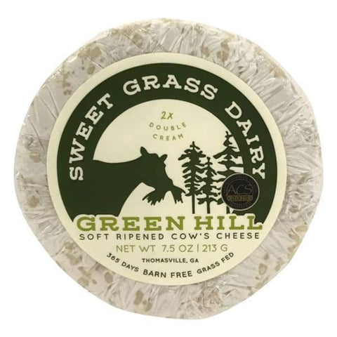 Green Hill Double Cream Cow Cheese - 7.5 oz - FOOD