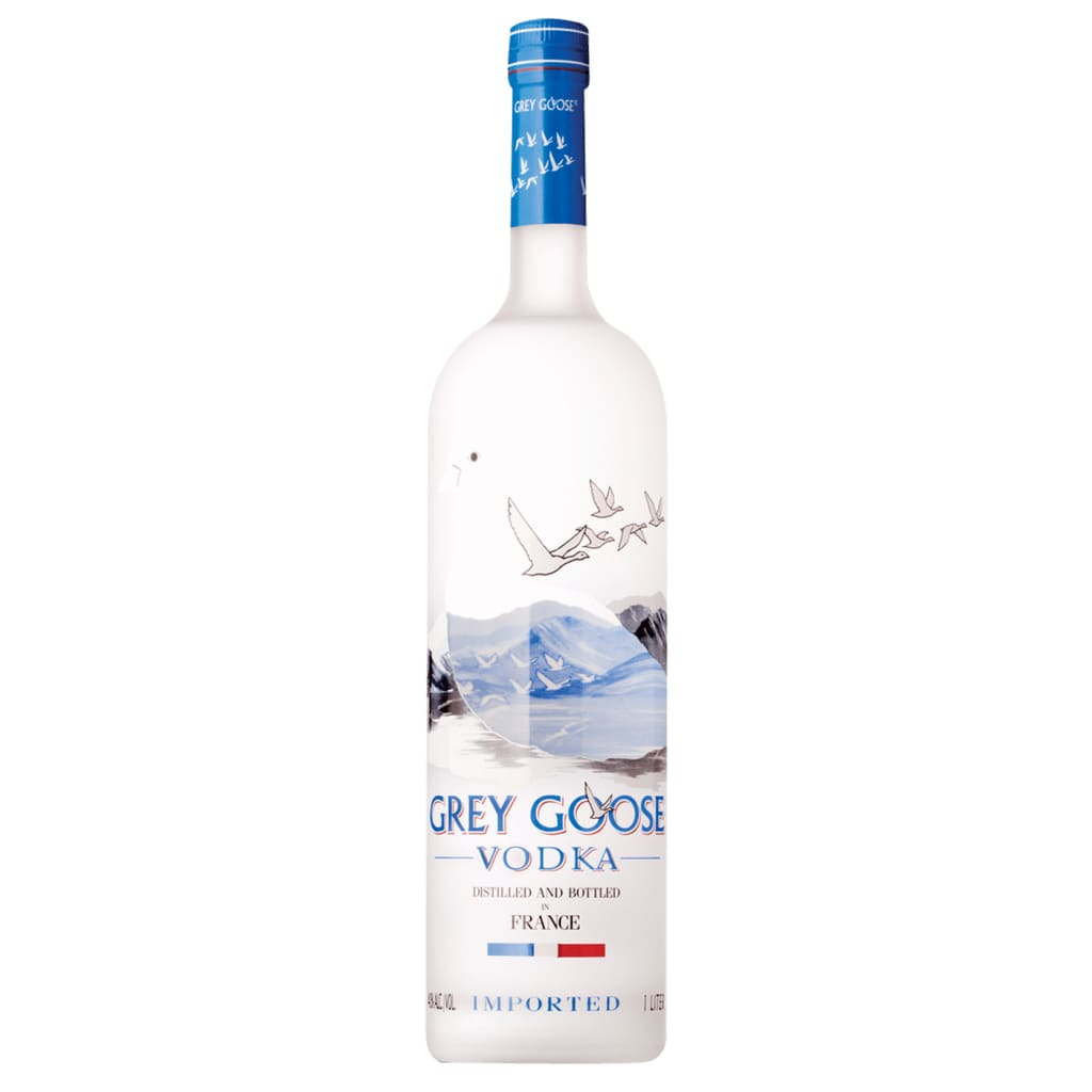 Grey Goose Vodka - 1.0L - Vodka