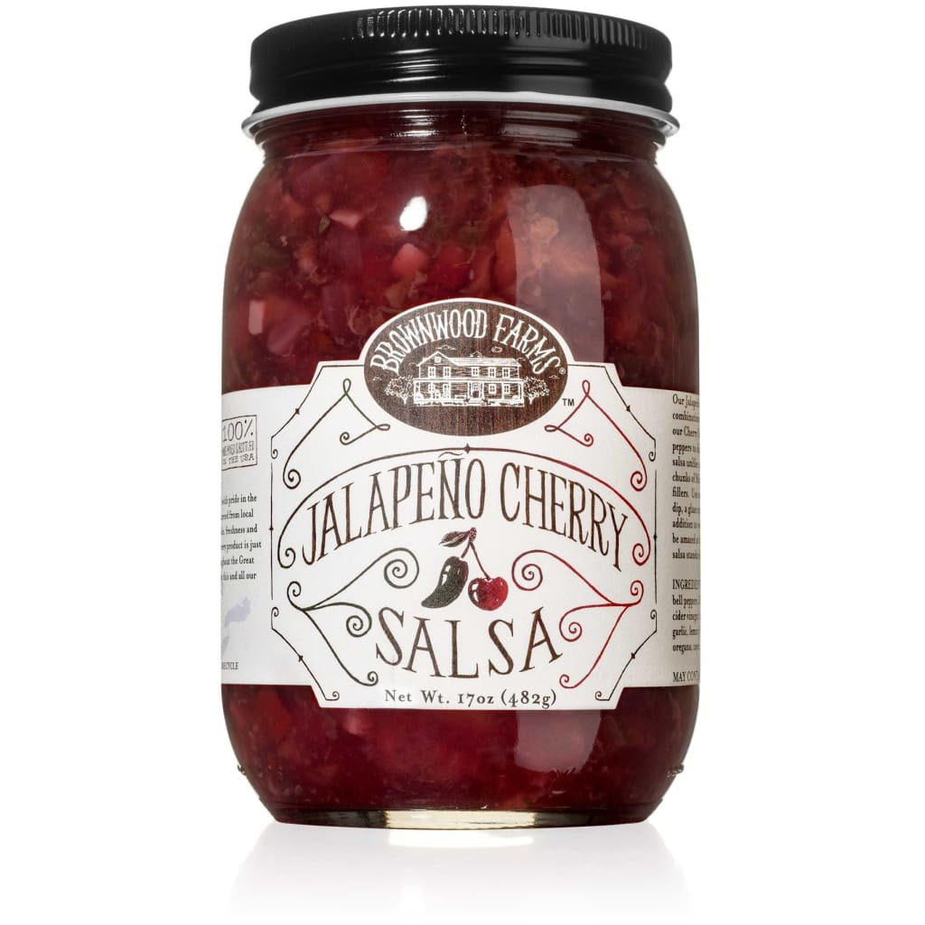 Jalapeño Cherry Salsa | Brownwood Farms - FOOD, grocery,