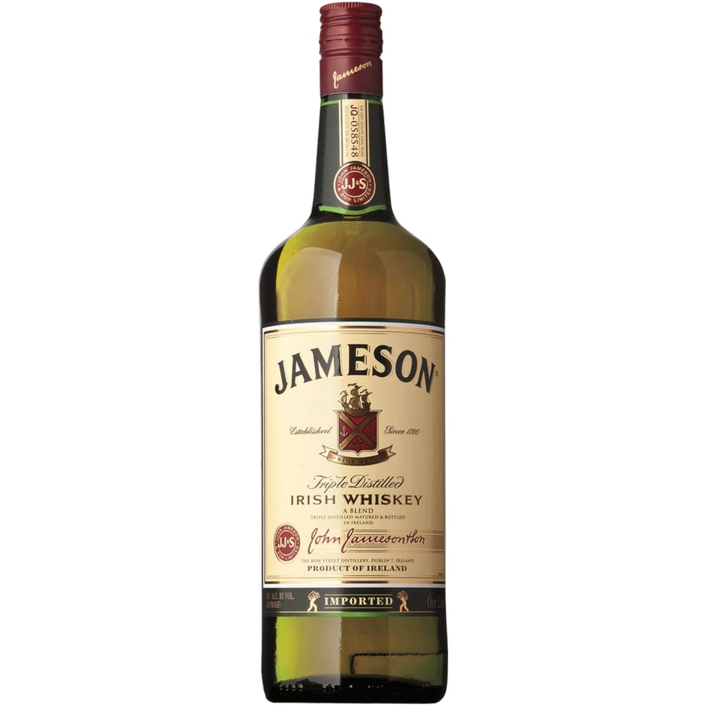Jameson Irish Whiskey - 1.0L - Irish Whiskey