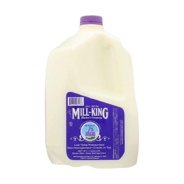 Milk | Mill-King Creamery - low pasteurized, MILK, mill-king