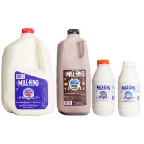 Milk | Mill-King Creamery - Cacow Half Gallon - MILK