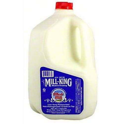 Milk | Mill-King Creamery - Whole Milk Gallon - MILK