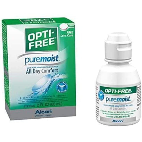 Opti-Free Contact Solution | Alcon - BATHROOM GOODS, Contact