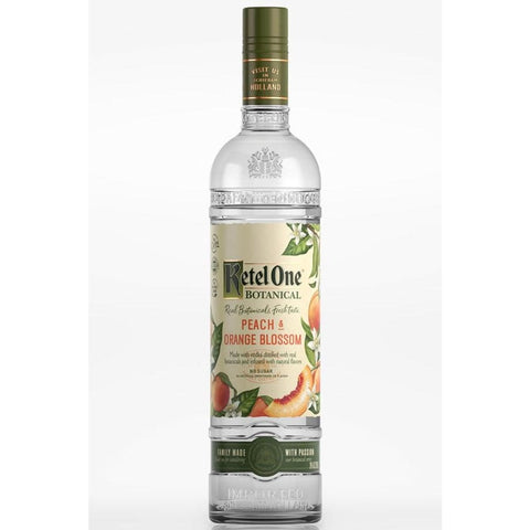 Peach & Orange Blossom Vodka | Ketel One - alcoholic,