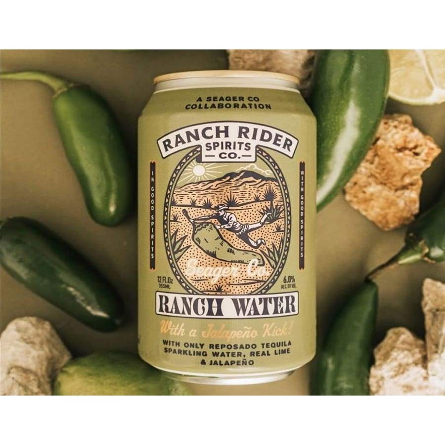 Ranch Water with Jalapeño | Ranch Rider Spirits Co -