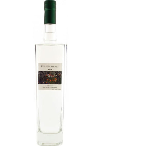 Russell Henry Malaysian Lime Gin | Tamar Distillery - gin,