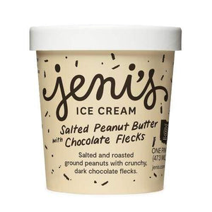Salted PB with Chocolate Flecks | Jeni's Ice Cream -